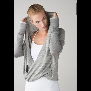 Lululemon Iconic Wrap Heathered Medium Grey